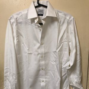 Other - NEW T.M. Lewin Men's White Dress Shirt